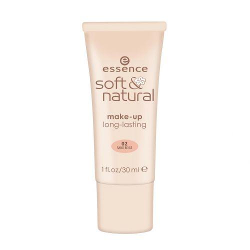 Essence soft & natural make-up-02 Sand Beige
