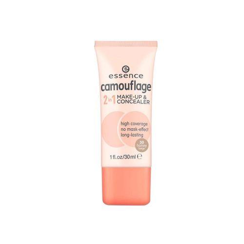 essence camouflage 2in1 make-up & concealer 30