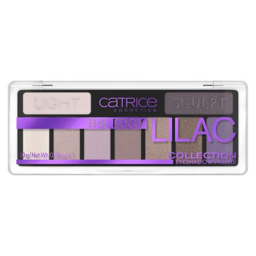 The Edgy Lilac Collection Eyeshadow Palette 010 10g