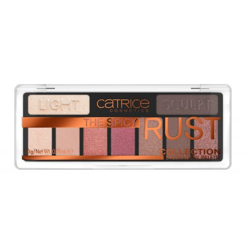 The Spicy Rust Collection Eyeshadow Palette 010 10g