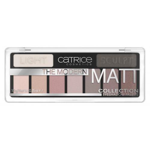 The Modern Matt Collection Eyeshadow Palette 010
