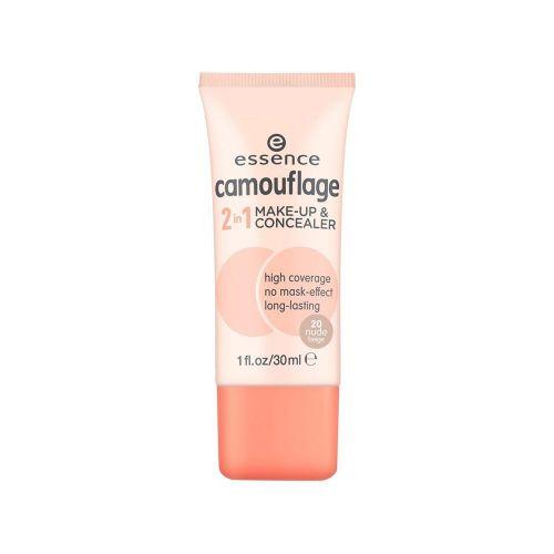 essence camouflage 2in1 make-up & concealer 20